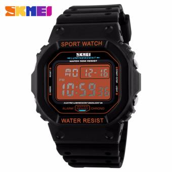 Skmei Silicone Strap Unisex Watch 1134 (Orange) Price Philippines