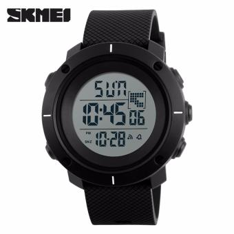 Skmei Silicone Strap Unisex Watch 1213 (Black) Price Philippines