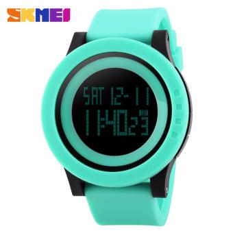 Skmei Silicone Strap Unisex Watch DG1142 (Green) Price Philippines