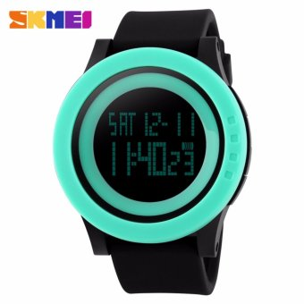 Skmei Silicone Strap Unisex Watch DG1142 (Green/Black) Price Philippines