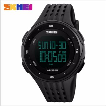 Skmei Silicone Strap Unisex Watch DG1219 (Black) Price Philippines