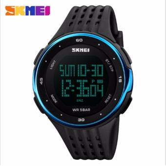 Skmei Silicone Strap Unisex Watch DG1219 (Blue) Price Philippines