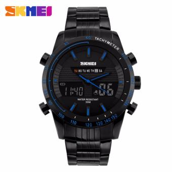 Skmei Steel Strap Men's Watch AD1131 (Blue) Price Philippines
