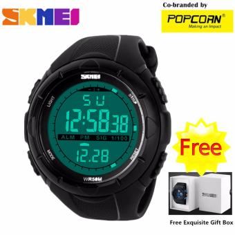 SKMEI WHSK021 Sport LED Dial and Silicone Strap Unisex Waterproof Sport Watch with Free Skmei Gift Box Price Philippines