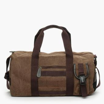 SM Accessories Mens Duffel Bag (Brown)