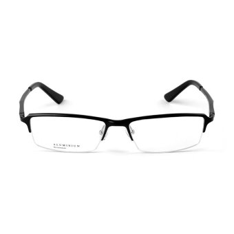 Stallane Optical Myopia Frame Fashion Eyeglasses For Men Business Leisure Spectacle Half Frame Glasses(Black