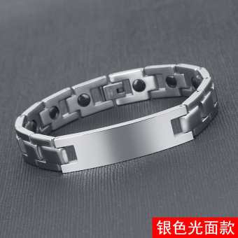 Stylish guy's titanium steel cross rack men's bracelet