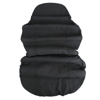 T21554BK Car Front Seat Water-resistant Cover (Black)