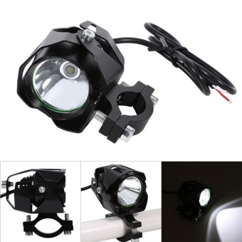 T6 Motorcycle LED Driving Headlight Fog Lamp Spot Light Black -intl