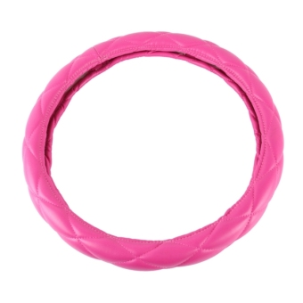 The Color Pink Leather Car Steering Wheel Cover Sets Four Seasons General - intl Price Philippines