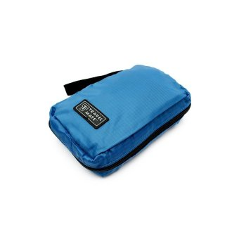 Travel Hanging Travel Mate Toiletry Kit Bag Organizer (Blue)