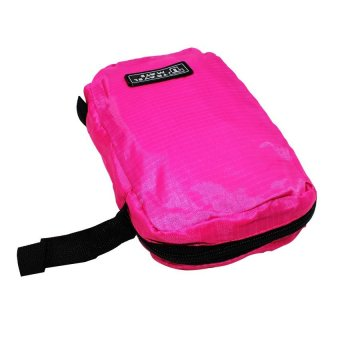 Travel Hanging Travel Mate Toiletry Kit Bag Organizer (Pink)