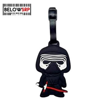 Travel Manila Character Luggage Bag Tag with Name, ID, AddressLabel (Kylo Ren)