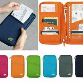 Travel Wallet Passport Ticket Holder Organizer with FREE LD LACE