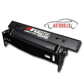 TRD Adjustable Tilting License Plate Holder for Toyota Cars  sc 1 st  PRICEZ COMPARE - The Comparison of Price & The Price Of Trd License Plate Holder For Toyota Vios Carbon ...