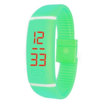 Unisex Turquoise Digital LED Sports Watch