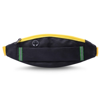 Unisex Waterproof Waist Pack Fanny Pack Bum Bag Hip Money Belttravel Mobile Phone Bag - intl