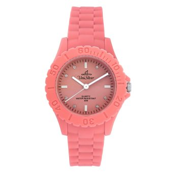 UniSilver TIME Mini Gelato Women's Peach / White Analog Rubber Watch KW1856-2102