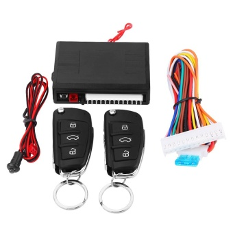 Universal Car Door Lock Keyless Entry System with Trunk ReleaseRemote Central Control Kit - intl