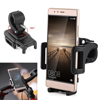 Universal Motorcycle Bike Scooter Handlebar Mount Stand Holder ForMobile Phone iPhone - intl
