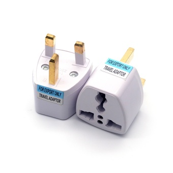 Universal US EU AU Converter To UK AC Travel Power Plug ChargerAdapter Connector UK Plug Wholesale - intl