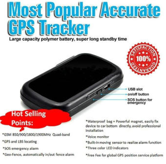Vehicle GSM GPRS GPS Tracker Car Tracking Locator Device 60DaysStandby - intl