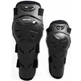 Vemar Motorcycle Racing Elbow Knee Guard Protector F12 (Black)