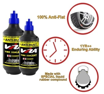 VIZA(R) Premium Tire Tyre Sealant (500ML) for Motorcycle Bicycle CarsTruck