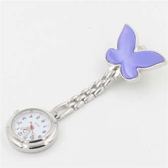 Watch nurse pocket watch Butterfly watch nurse table