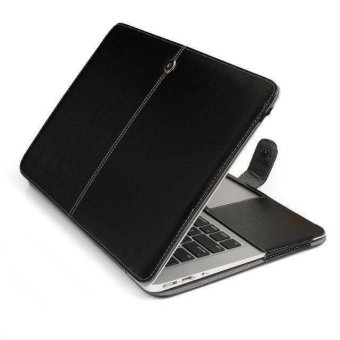 "Welink PU Leather Case For Apple Macbook Air 11"" (Black)"