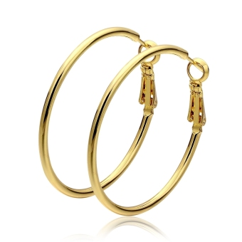 Wholesale Nickle Free Antiallergic 18K Gold Plated Earrings For Women New Fashion Jewelry