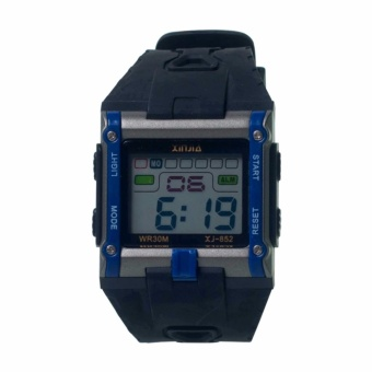 Xinjia XJ-852 Digital Display Plastic Strap Watch #0127