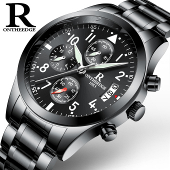 Yeguang Korean-style waterproof stainless steel ultra-thin watches authentic men's watch