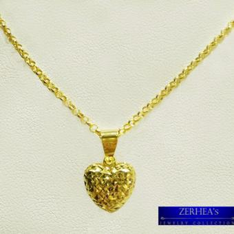 ZERHEA's Jewelry Tawco Necklace with Small Heart Pendant 18k
