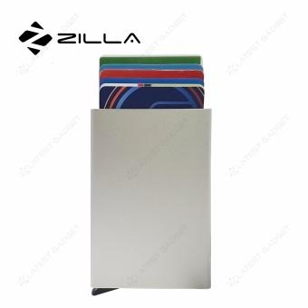 zilla metal card dispenser (silver)