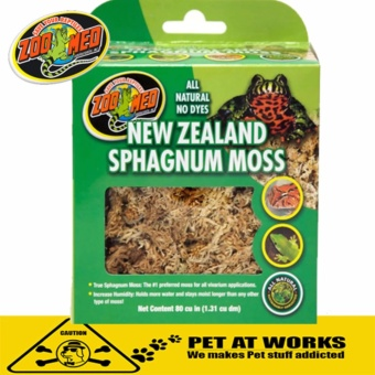 Zoo Med All Natural New Zealand Sphagnum Moss For All Reptile Beddings