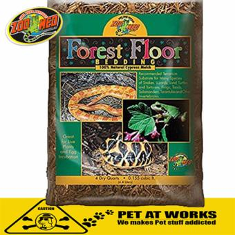 Zoo Med Forest Floor Beddings (8QT) for Reptile Pets Bedding