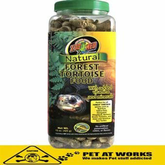 Zoo Med Natural Forest Tortoise Food (425g) For Turtle and Reptile Food