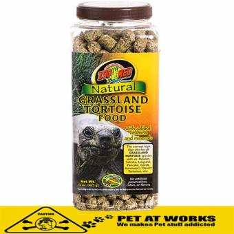 Zoo Med Natural Grassland Tortoise Food (425g) for Turtle and Reptile Food