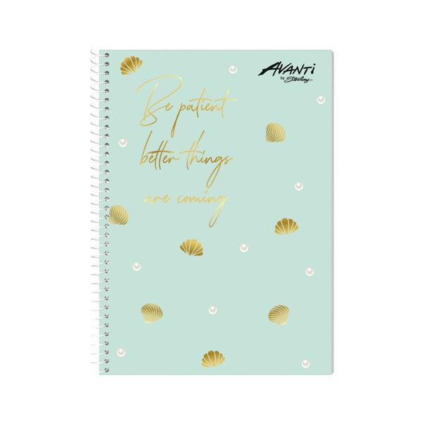Image of Avanti Serene Life Premium Spiral Notebook Set of 8