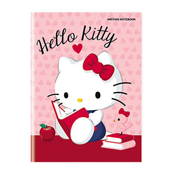 Image of Orions Hello Kitty Writing Notebook Set of 10