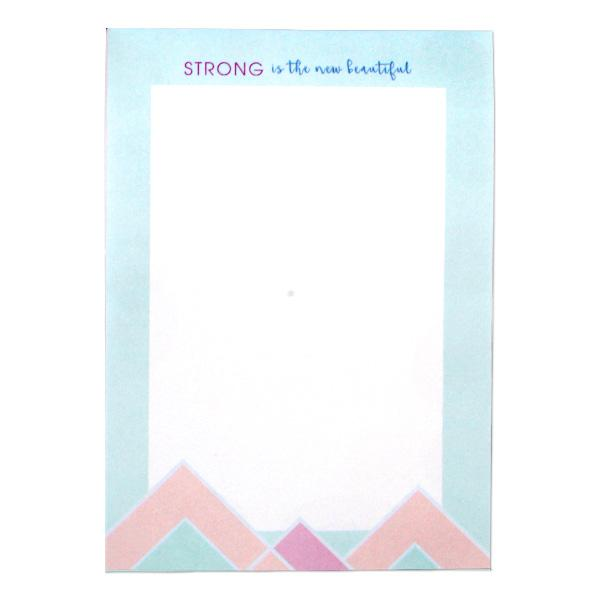 "Image of Sterling 5"" x 7"" PaperTrends Note Pad Geometric - Rise and Slay"