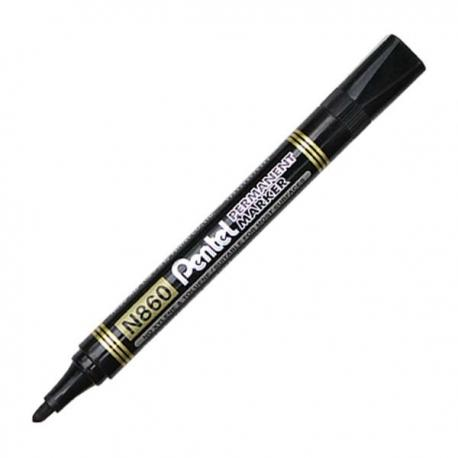 Image of Pentel N860 Permanent Marker Black