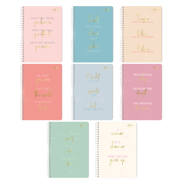 Image of Sterling Simplicity Spiral Notebook 685 Set of 8