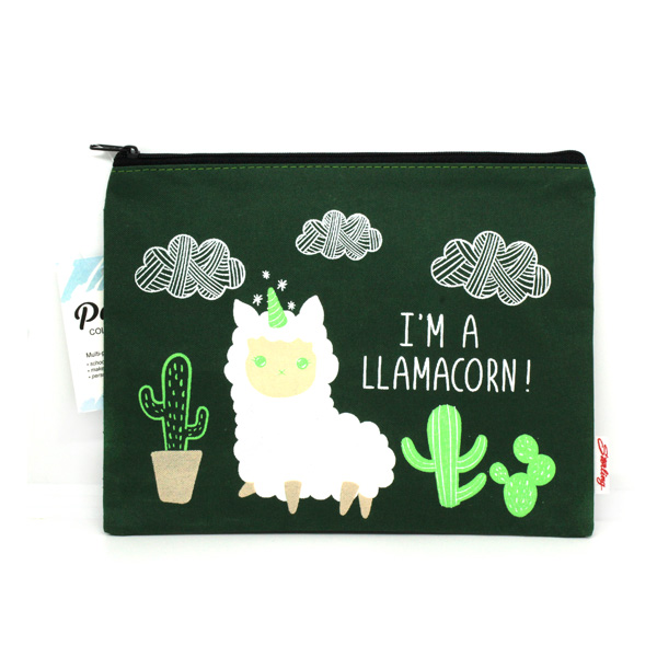 Image of Sterling I'm a Llamacorn! Big Fabric Pouches