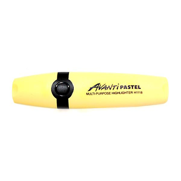 Image of Avanti PASTEL Highlighters - Pastel Yellow