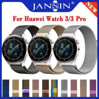 Milanese Watchband cho Huawei Watch 3 Đồng hồ thông minh bằng thép không gỉ Phụ nữ Nam giới Vòng đeo tay Dây đeo cho Huawei Watch 3 Pro Strap thumbnail