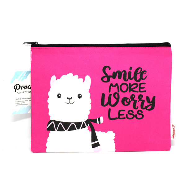 Image of Sterling Smile Worry Less Big Fabric Pouches
