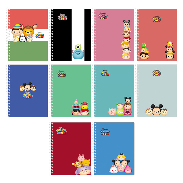 Image of Orions Disney TsumTsum Spiral Notebook Set of 10