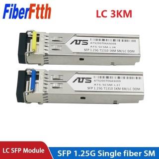 1Pair SC LC 3KM GBIC 1.25G SFP Module Switch Ethernet Fiber Optic Transceiver Compatible with TP-link Mikrotik Cisco thumbnail